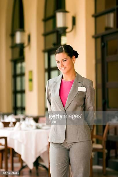 Restaurante camarera