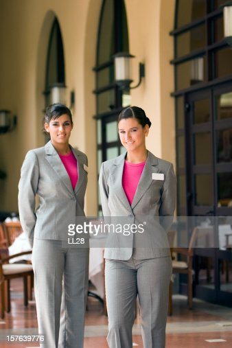 Restaurant hostess