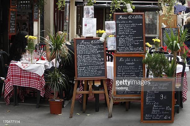 Restaurant in the Latin Quarter Paris Paris France