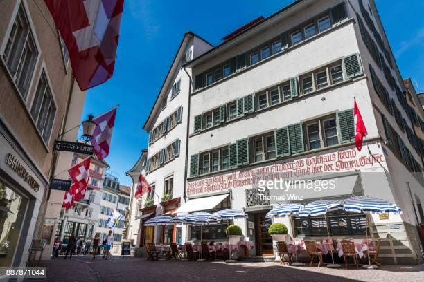 Restaurant in the old town in Zurich