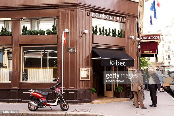 Restaurant Le Bec.