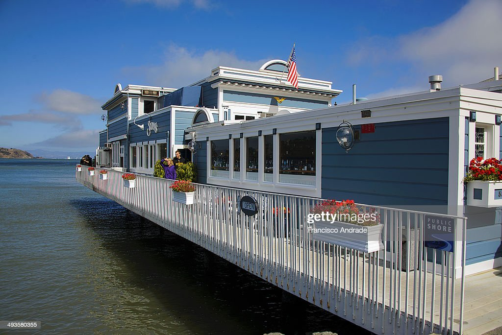 CONTENT] Restaurant on the water in Sausalito, California.