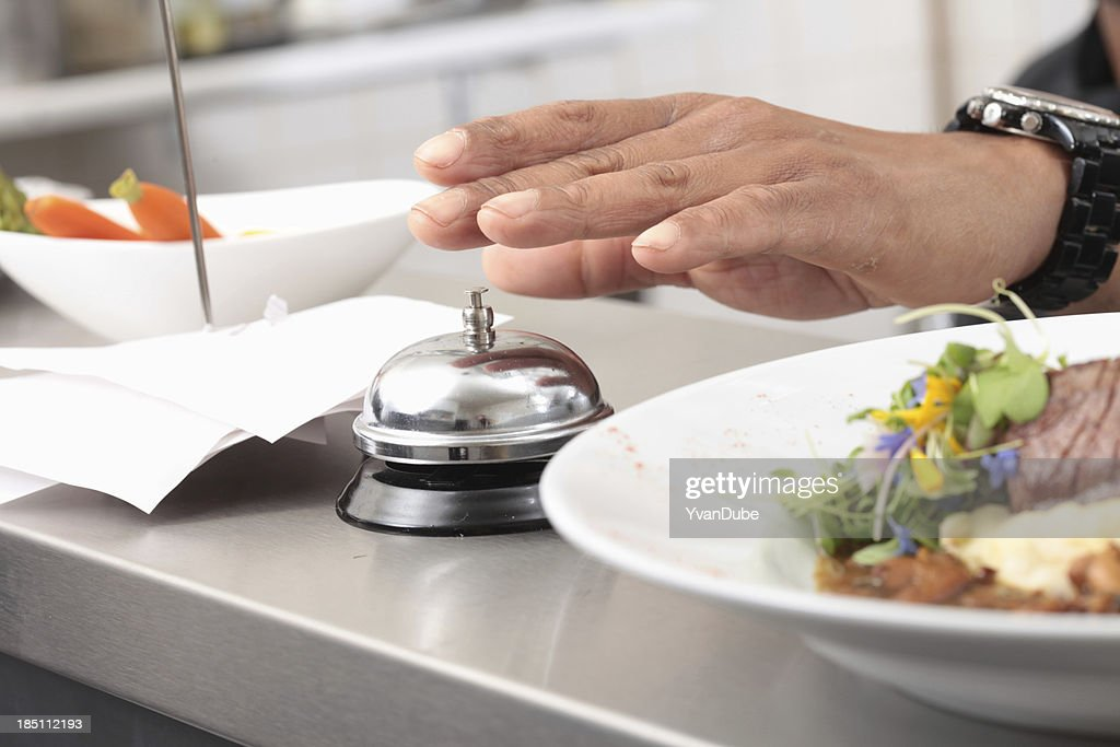 restaurant order ready to be served