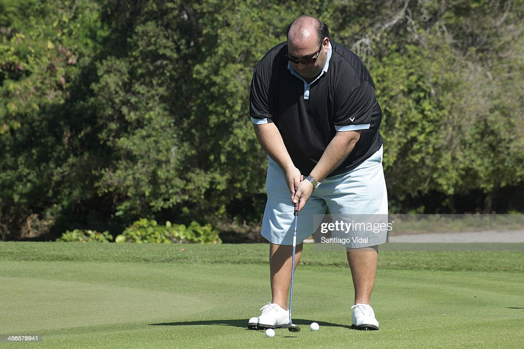 Restaurant Owner Nick Varano during the David Ortiz 6th Celebrity Golf Classic at Punta Espada Golf Club on December 14, 2013 in Punta Cana, Dominican Republic.