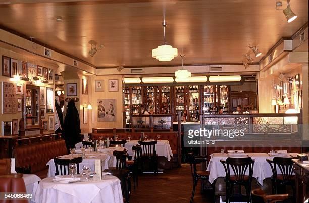 Restaurant `Reinhard's Landhaus' inder Königsallee in GrunewaldInnenansicht 1998