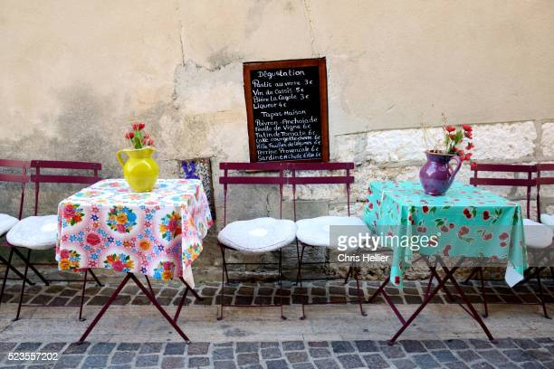 Restaurant Tables Cassis Provence France