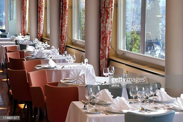 Restaurant waiting for guests