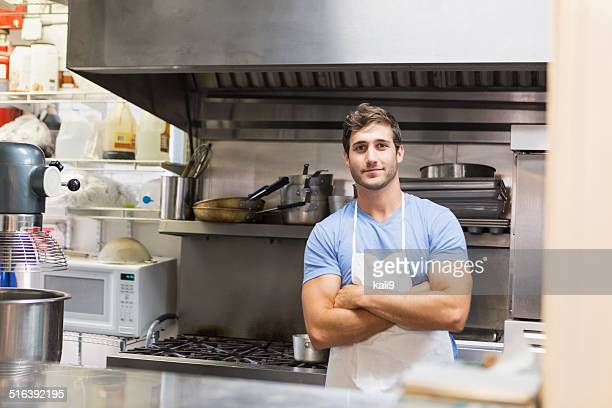 Trabalhador do restaurante