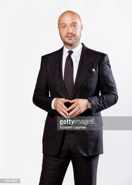 Restauranteur Joe Bastianich is photographed for Ad Week on July 29 2013 in New York City