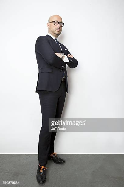 Restauranteur Joe Bastianich is photographed for TV Guide Magazine on January 15 2015 in Pasadena California