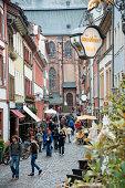 Restaurants and shops in Heidelberg