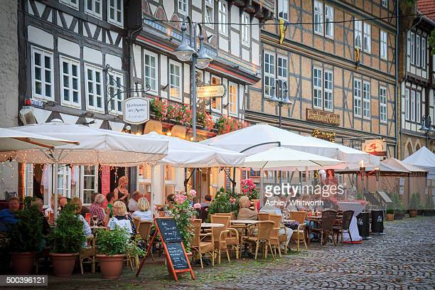 CONTENT] Restaurants in 16thcentury halftimbered buildings in Goslar