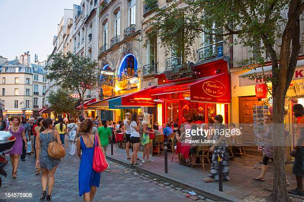 Restaurants in Latin Quarters of Paris