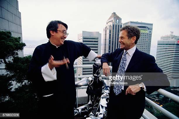 Restaurateur David Tang and Financier Simon Murray