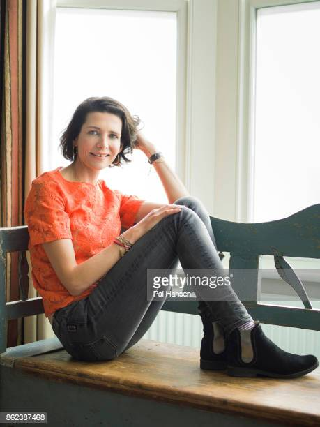 Restaurateur Thomasina Miers is photographed for Psychologies on February 20 2017 in London England