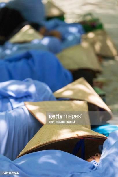 resting guides in Ninh Binh (vietnam)