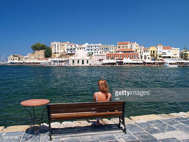 Resting in Chania Harbor