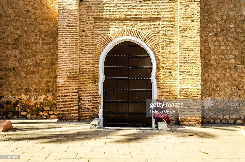 Resting in Marrakesh : Stock Photo