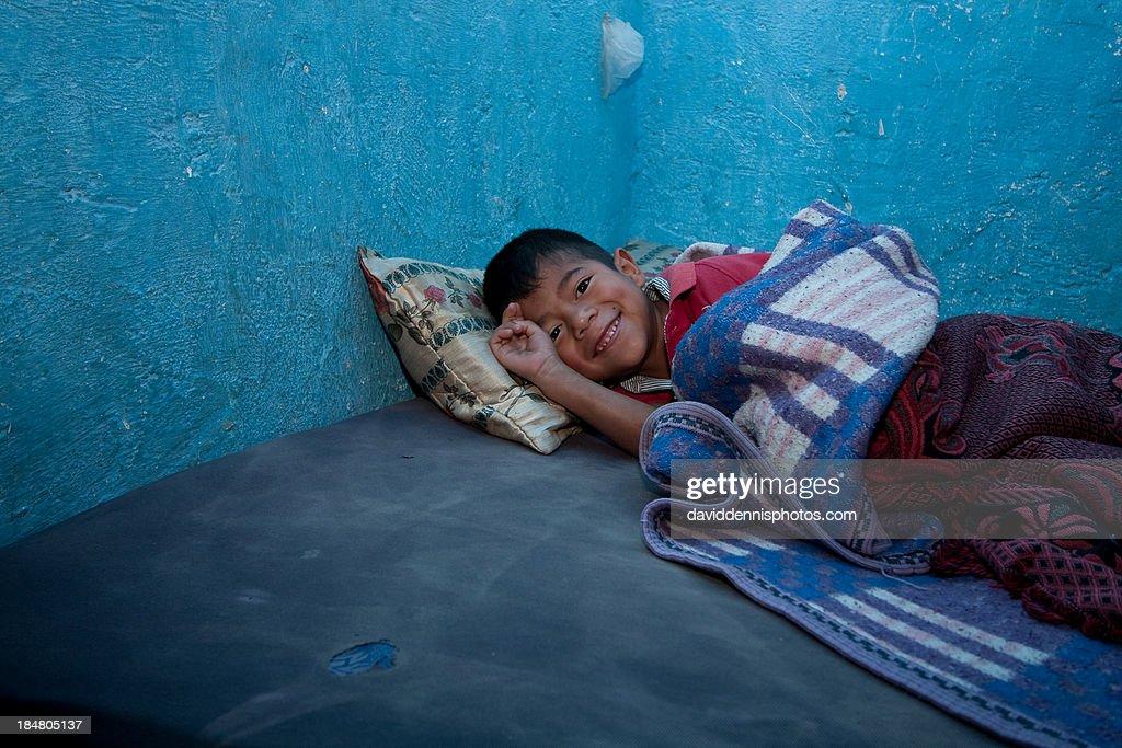 Resting in Momostenango
