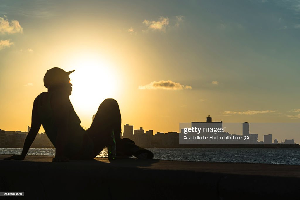 Resting in the dock of the bay : Stock Photo