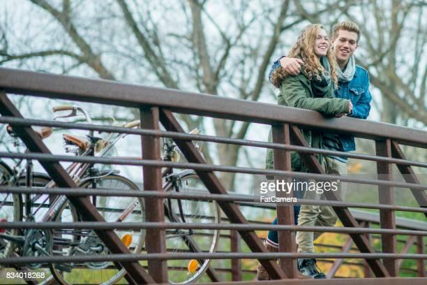 Resting On A Bridge