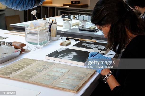 Restoration Of Photos Photo Restoration Workshop has the restoration and conservation of photographs of the City of Paris directed by Anne...