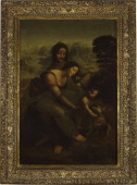 Restoration Of The Painting 'The Virgin And Child With Saint Anne' By Leonardo Da Vinci The restoration of the famous Leonardo da Vinci painting 'The...
