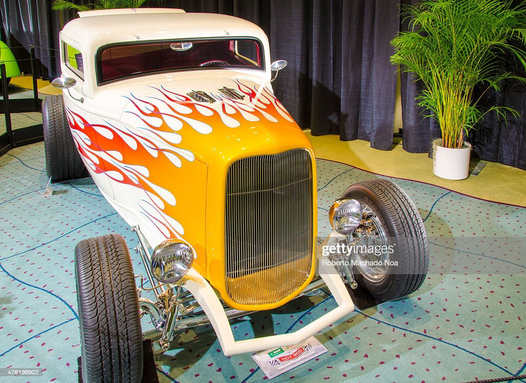CENTRE TORONTO ONTARIO CANADA Restored car with tuning in Canada International Auto Show The Canadian International AutoShow CIAS for short is...