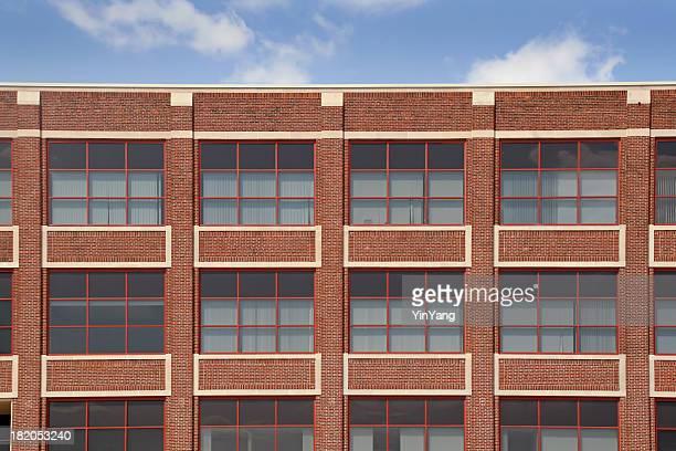 Restauré Old Brick bâtiment extérieur, un bureau, les appartements ou entrepôt