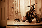 Restoring a motorcycle