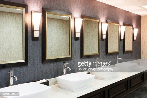 Restroom Luxury Hotel Restaurant Decor
