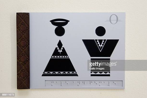 Bathroom Signs South Africa girls bathroom signs stock photos and pictures | getty images