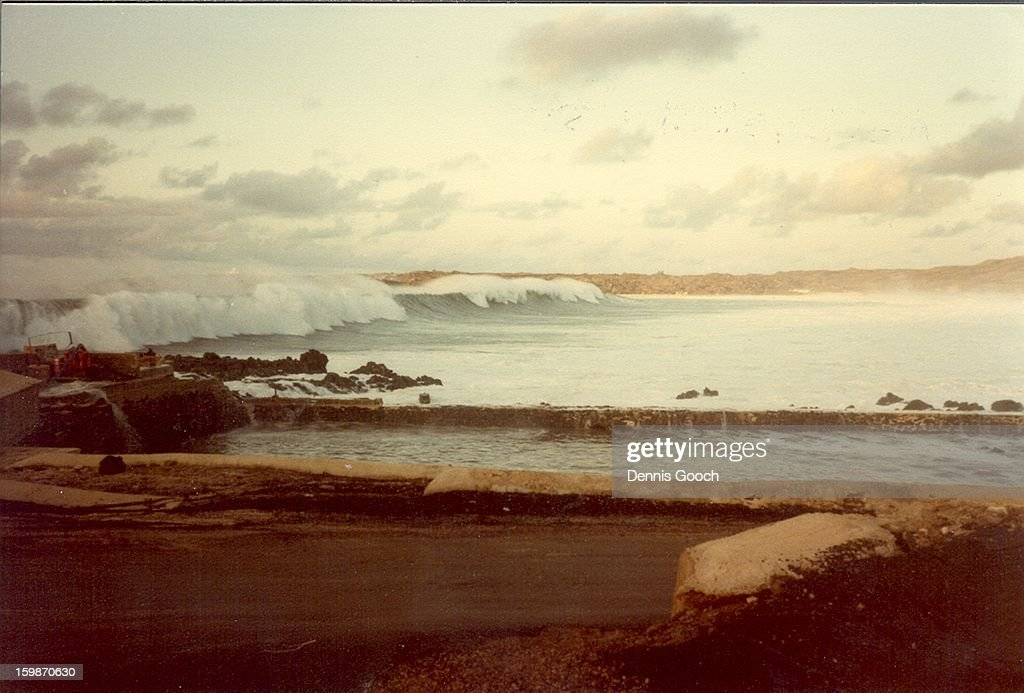 CONTENT] Result of suspected earthquake close to Equater. Ascension Island Mar 1985. Taken near Turtle Ponds Water did not settle down for about a week. The waves were so large and strong that the sea flooded Long Beach and dislodged and destroyed a lot of Turtle eggs, that were laid under the sand on the beach.