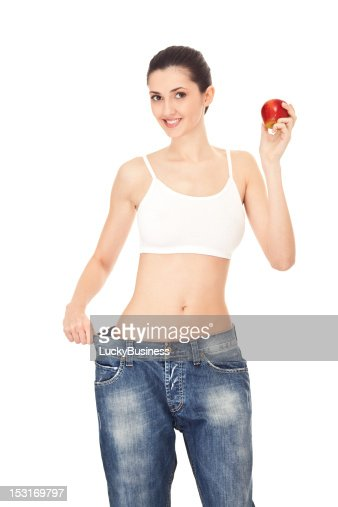 results of healthy diet, concept : Stock Photo
