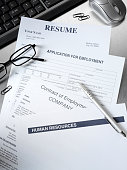 Resume and Employment Application Form