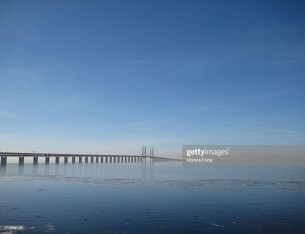 Öresundsbron  Bridge : Stock Photo