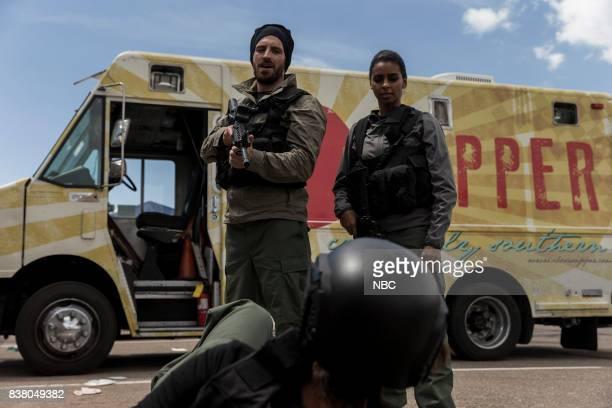 SHIFT 'Resurgence' Episode 410 Pictured Eoin Macken as TC Callahan Rana Roy as Amira