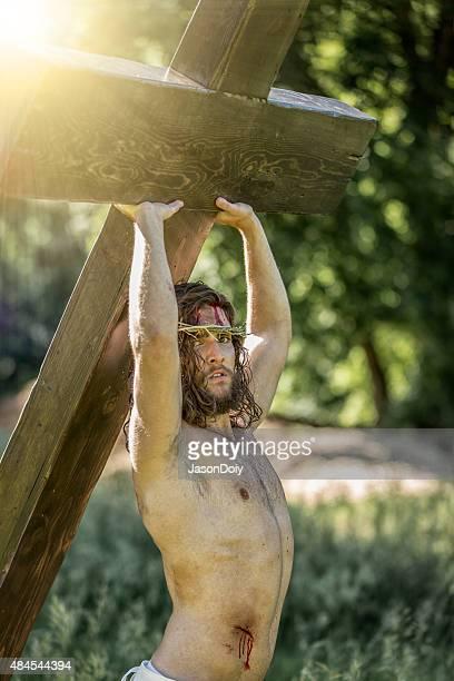 Réinterprétée Jésus avec de la Lumière Divine