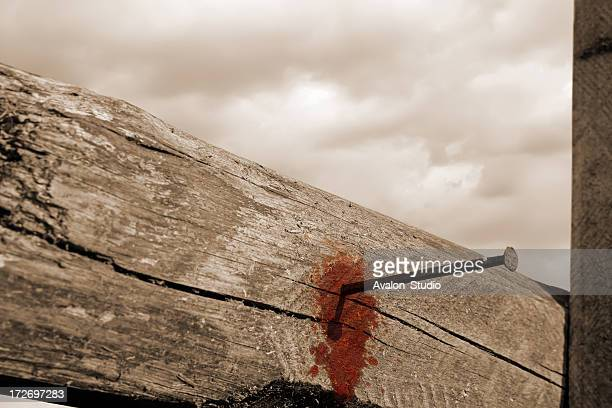 Bloody Cross Stock Photos And Pictures Getty Images