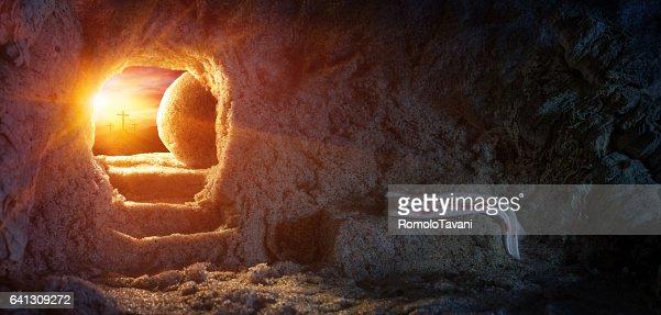 Resurrection Of Jesus : Stock Photo