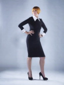 Retail expert and broadcaster Mary Portas is photographed for Channel 4 publicity on August 23 2012 in London England