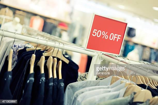 Negozi Outlet abbigliamento in negozio di moda