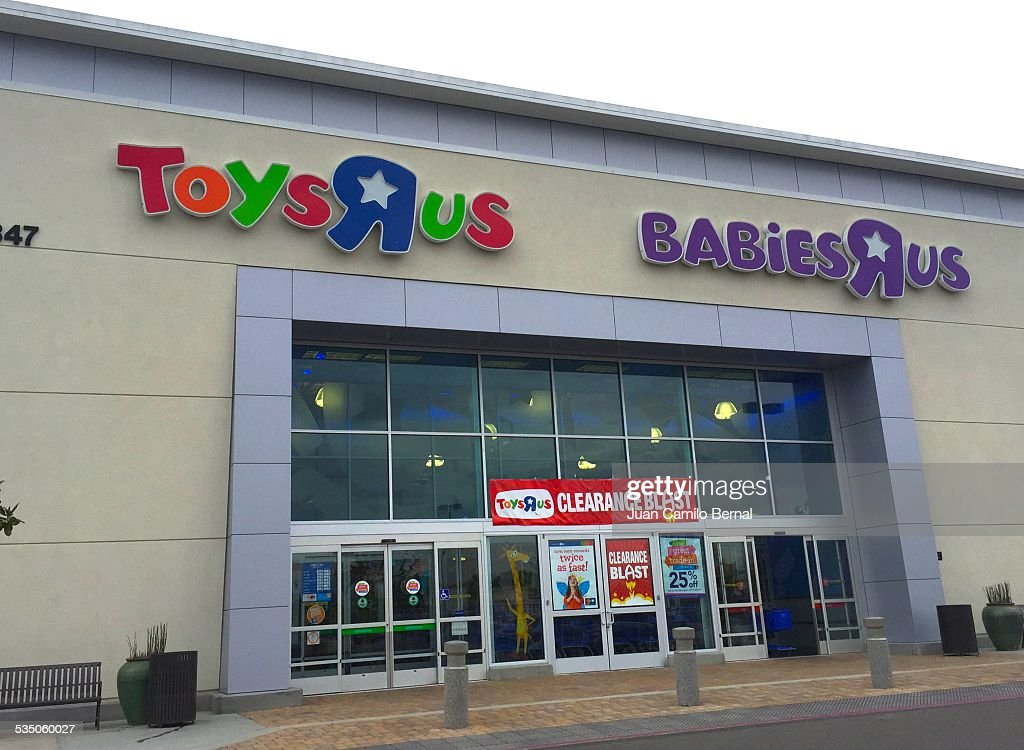 Toys R Us Sign : Retail sign toys r us and babies store in seal beach