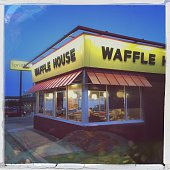Retail Signs Waffle House Restaurant