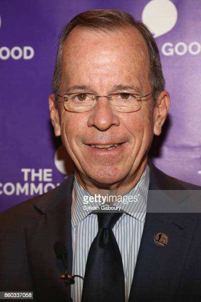 Retired Admiral Mike Mullen attends The Common Good proudly presents an intimate conversation with Admiral Mike Mullen former Chairman Joint Chiefs...