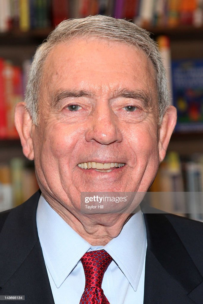 Retired anchor <a gi-track='captionPersonalityLinkClicked' href=/galleries/search?phrase=Dan+Rather&family=editorial&specificpeople=209204 ng-click='$event.stopPropagation()'>Dan Rather</a> promotes 'Rather Outspoken: My Life In The News' at Barnes & Noble 82nd Street on May 2, 2012 in New York City.