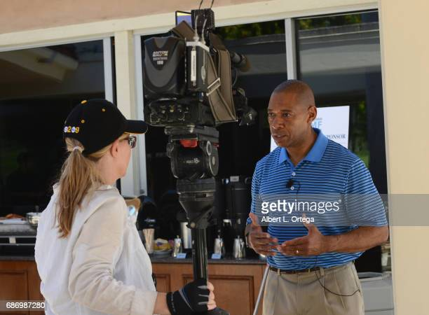 Retired Army General Dana Pittard at the Matthew Silverman Memorial Golf Classic held at El Caballero Country Club on May 22 2017 in Tarzana...