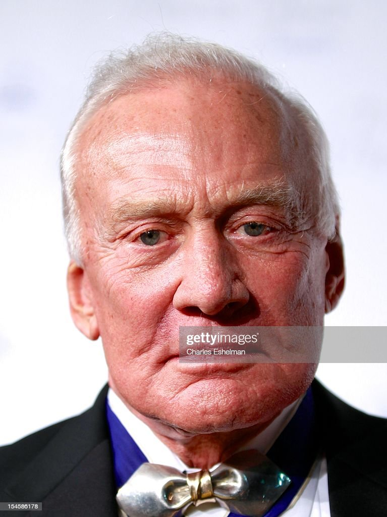 Retired astronaut <a gi-track='captionPersonalityLinkClicked' href=/galleries/search?phrase=Buzz+Aldrin&family=editorial&specificpeople=90480 ng-click='$event.stopPropagation()'>Buzz Aldrin</a> attends 30th Anniversary Princess Grace Awards Gala at Cipriani 42nd Street on October 22, 2012 in New York City.