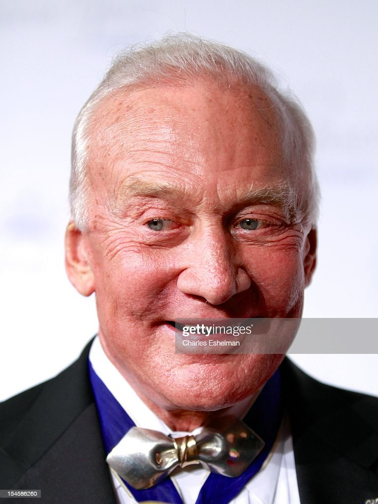 Retired astronaut Buzz Aldrin attends 30th Anniversary Princess Grace Awards Gala at Cipriani 42nd Street on October 22, 2012 in New York City.