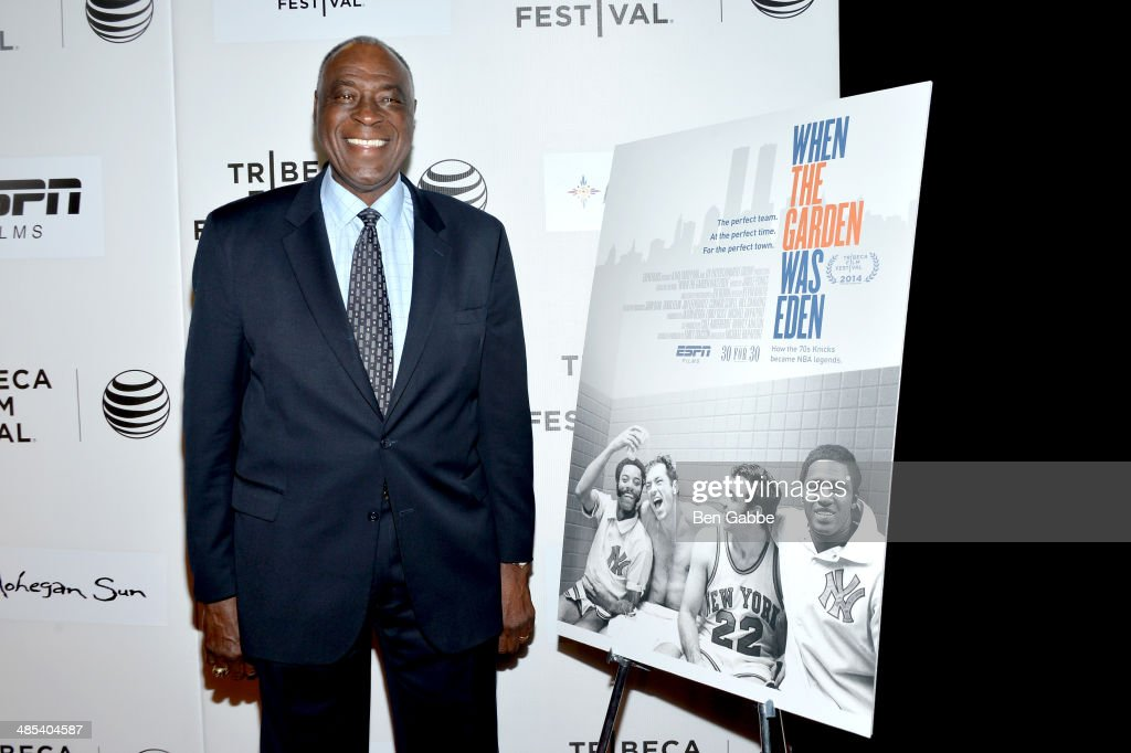 Retired basketball player Cazzie Russell attends the Tribeca/ESPN Sports Film Festival Gala: 'When The Garden Was Eden' during the 2014 Tribeca Film Festival at BMCC Tribeca PAC on April 17, 2014 in New York City.
